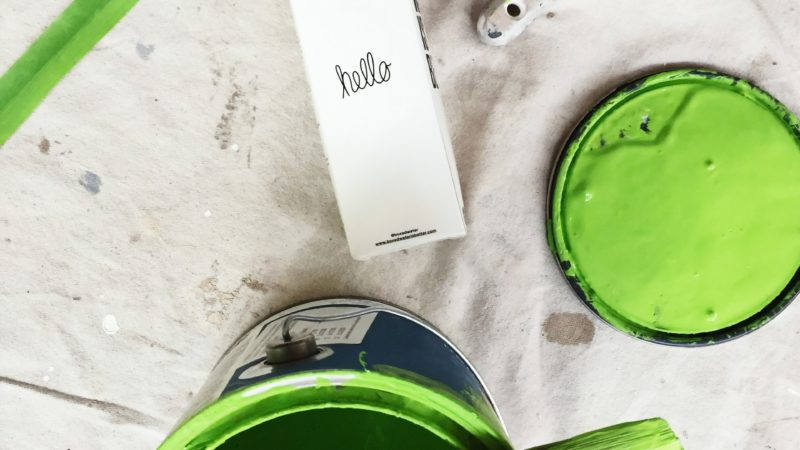 Different types of wall paint and finishes
