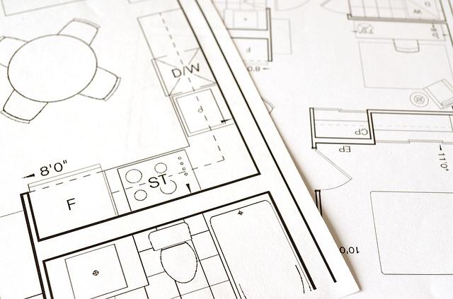 House renovation blueprints
